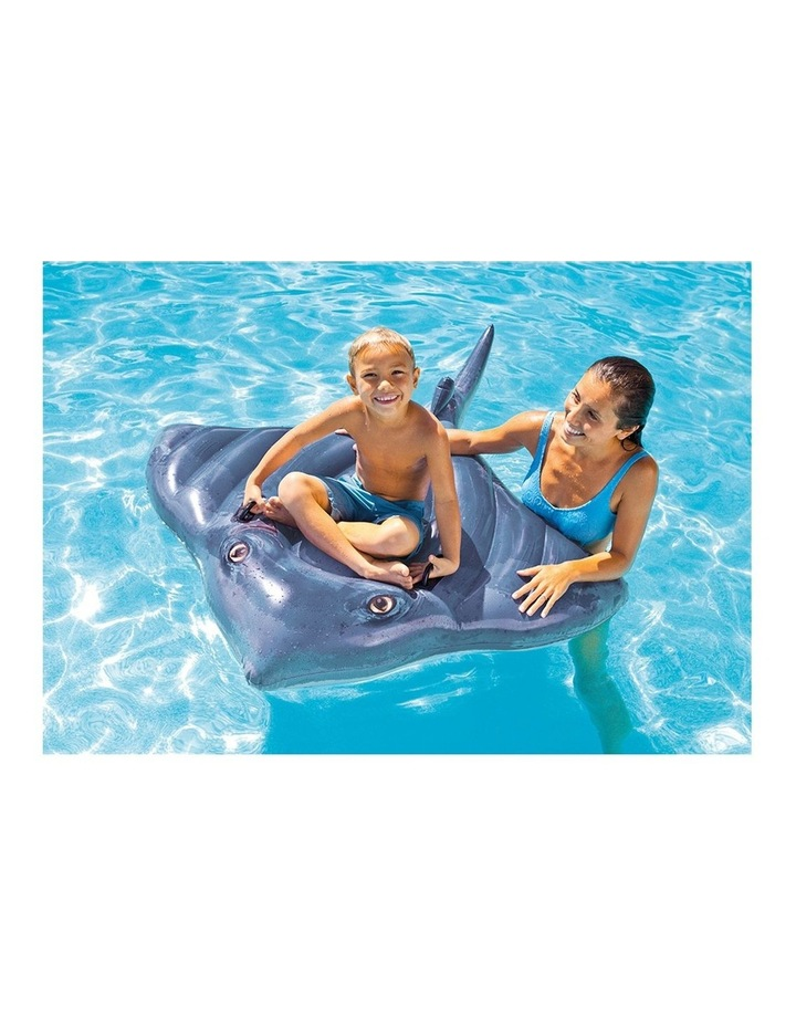 1.8m Stingray Kids Inflatable Ride-On Swimming Pool Floats Water Raft image 3