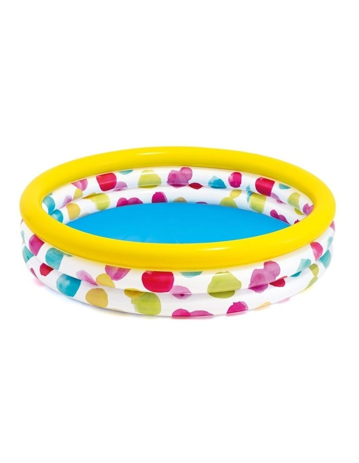 1.47m Outdoor/Patio Inflatable Round Kids Swimming Pool with Dots Pattern image 1