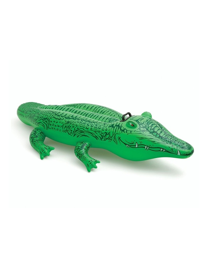 1.7m Lil Gator Kids Inflatable Ride-On Swimming Pool Floats Water Raft image 1