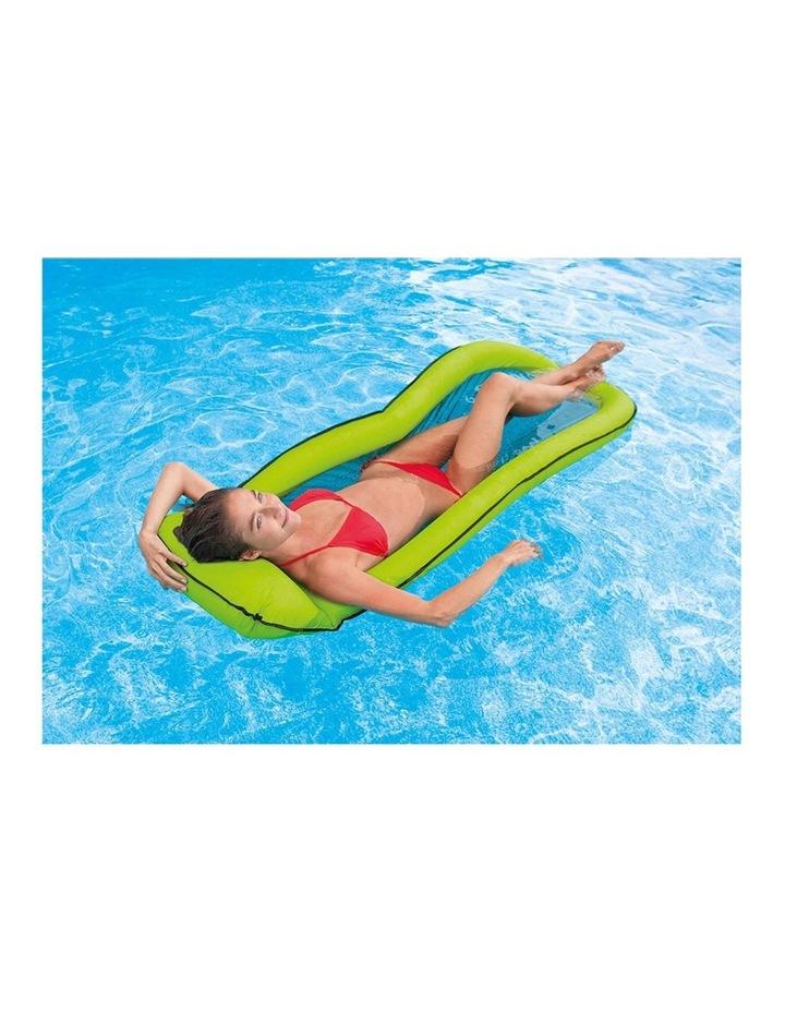 1.7m Mesh Lounge Kids Inflatable Swimming Pool Float Water Raft image 3