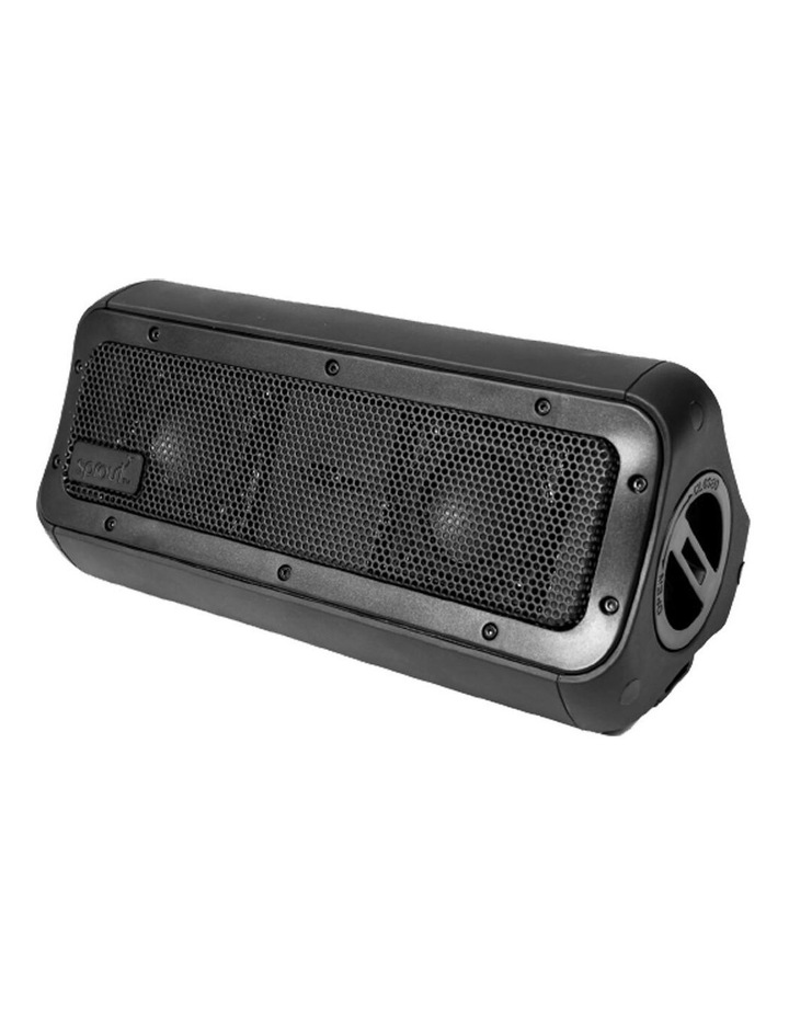 Elite Series Nomad III Black Waterproof Portable Bluetooth Wireless Speaker image 1