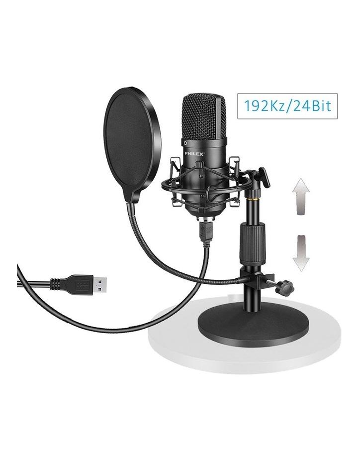 Audio Podcast/Broadcast Recording USB Condenser Cardioid Microphone image 2