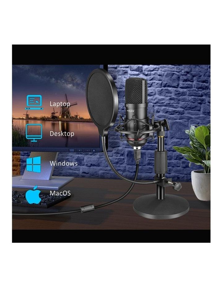 Audio Podcast/Broadcast Recording USB Condenser Cardioid Microphone image 4