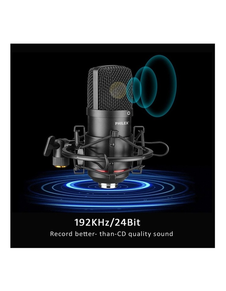 Audio Podcast/Broadcast Recording USB Condenser Cardioid Microphone image 5