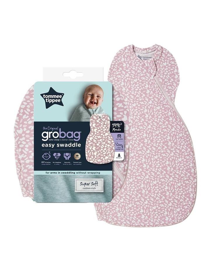 Grobag Baby/Newborn Cotton 0-3M Easy Swaddle/Sleep Bag Earth Grape image 1