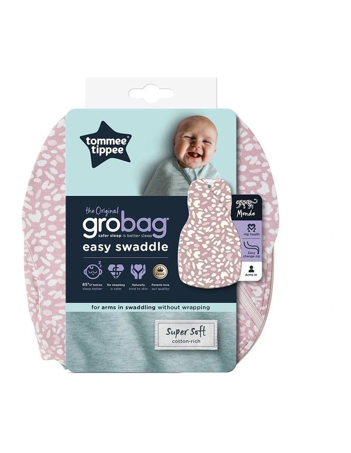 Grobag Baby/Newborn Cotton 0-3M Easy Swaddle/Sleep Bag Earth Grape image 2