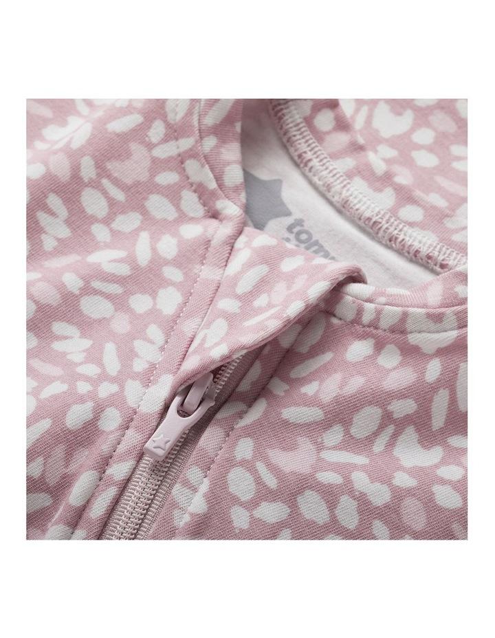 Grobag Baby/Newborn Cotton 0-3M Easy Swaddle/Sleep Bag Earth Grape image 3