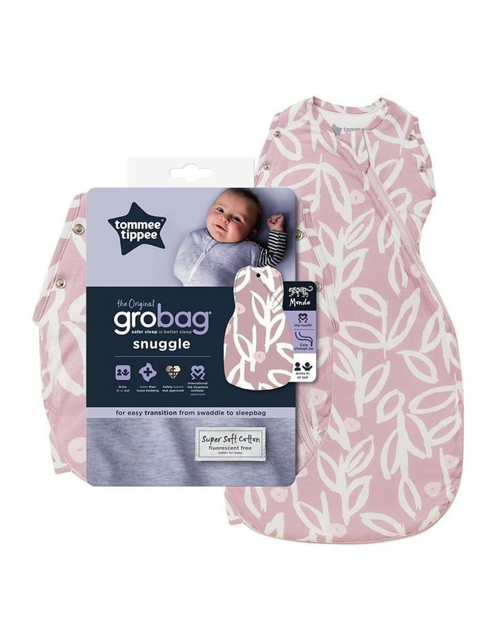 Grobag Baby Cotton 0-4M 2.5 TOG Snuggle Sleeping Bag Botanical image 2