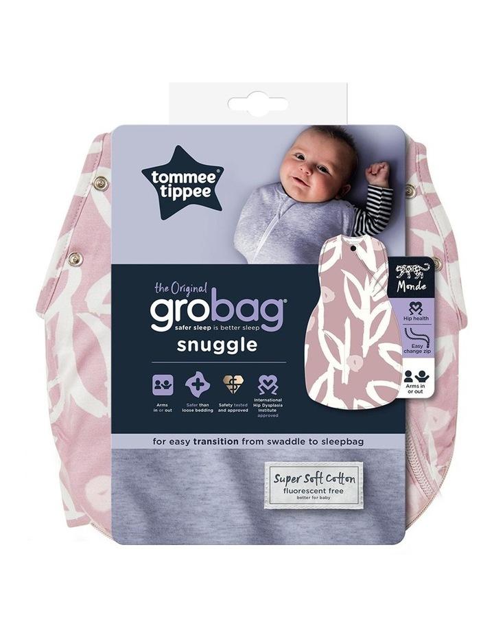 Grobag Baby Cotton 0-4M 2.5 TOG Snuggle Sleeping Bag Botanical image 3