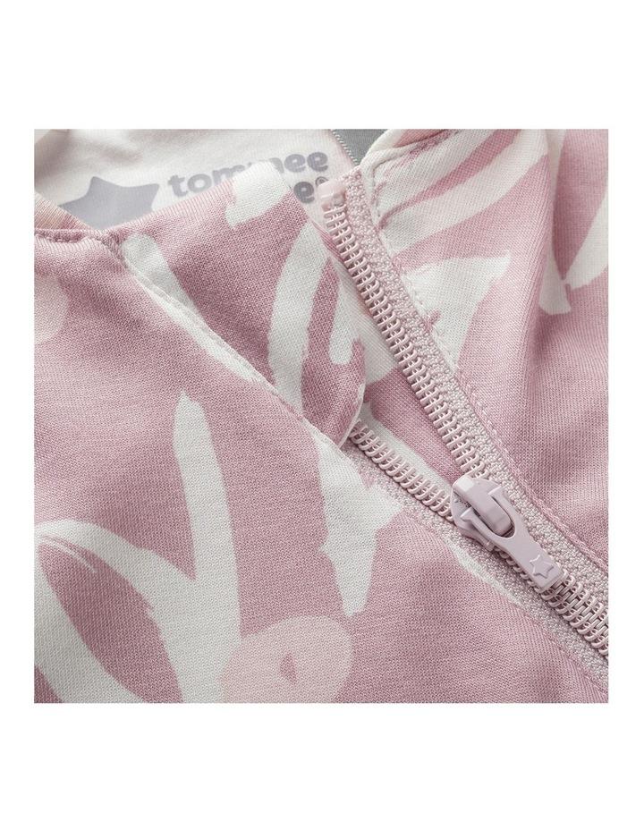 Grobag Baby Cotton 0-4M 2.5 TOG Snuggle Sleeping Bag Botanical image 4