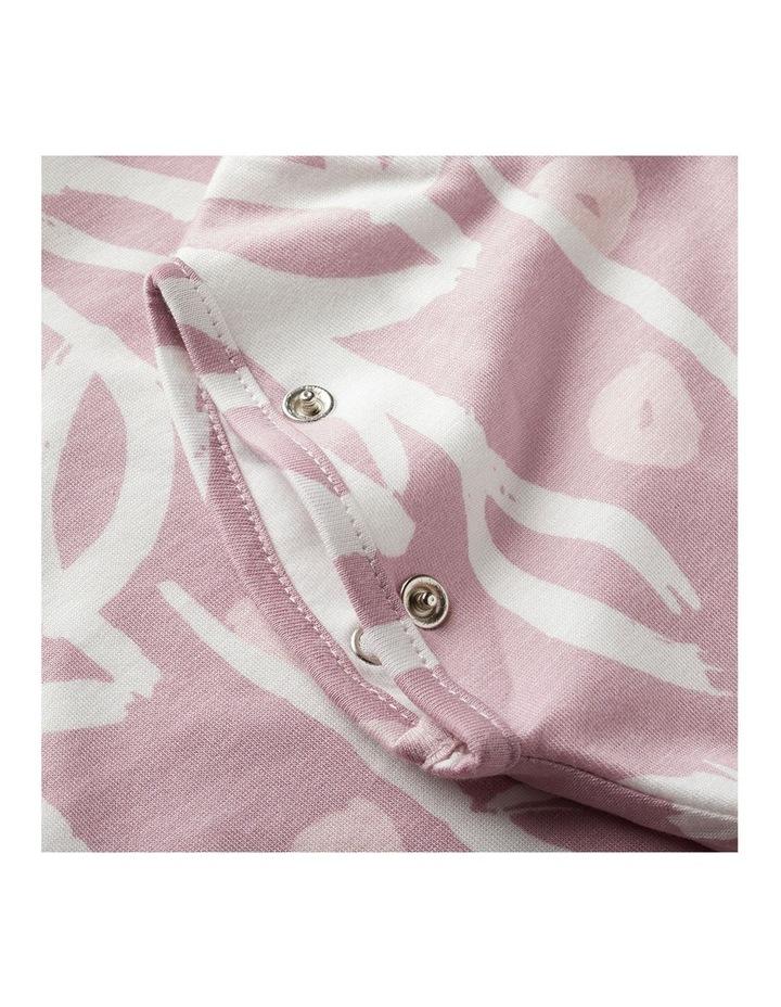 Grobag Baby Cotton 0-4M 2.5 TOG Snuggle Sleeping Bag Botanical image 5
