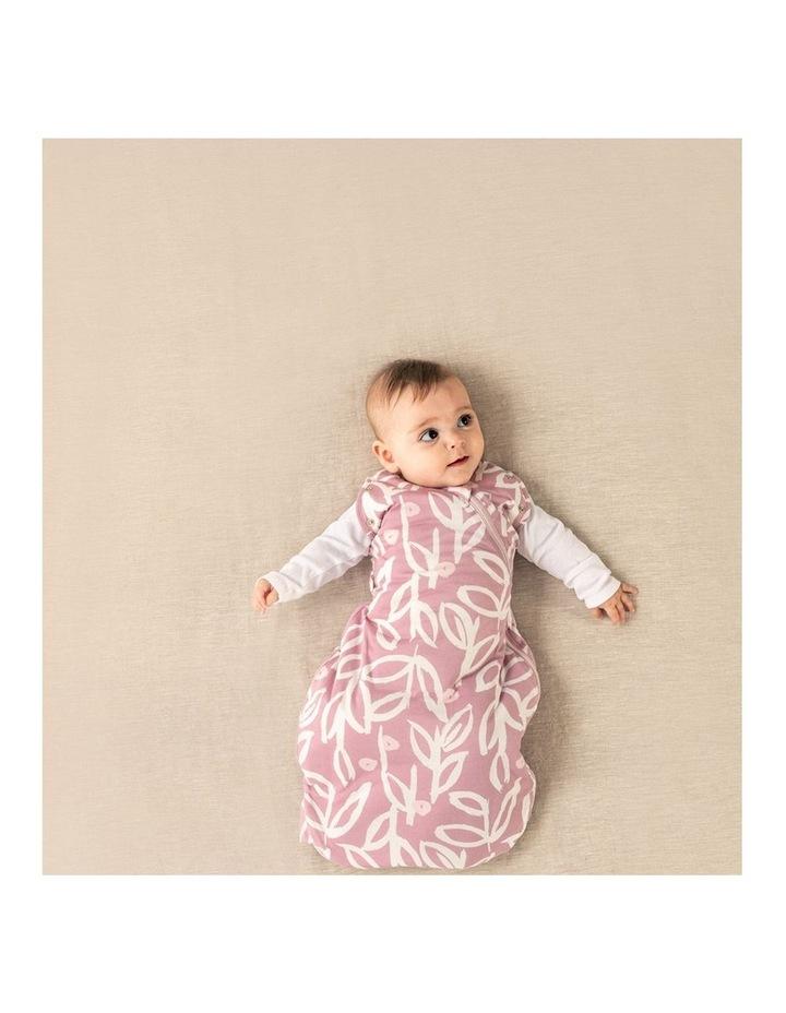 Grobag Baby Cotton 0-4M 2.5 TOG Snuggle Sleeping Bag Botanical image 6