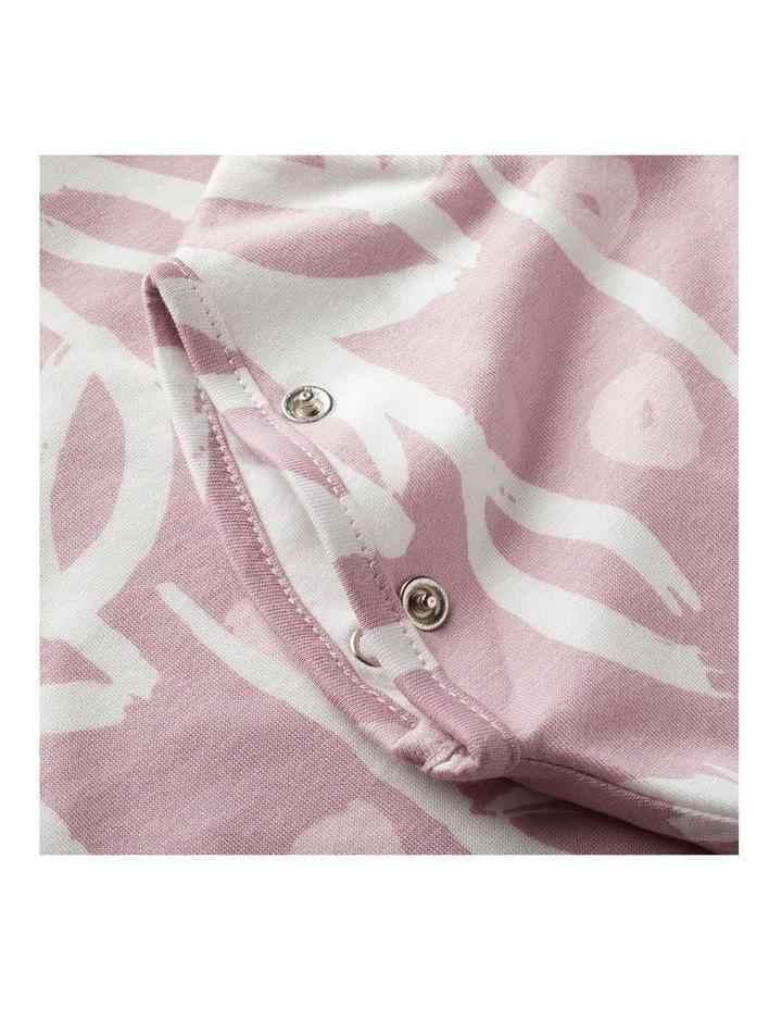 Grobag Baby Cotton 3-9M 2.5 TOG Snuggle/Sleeping Bag Botanical image 5