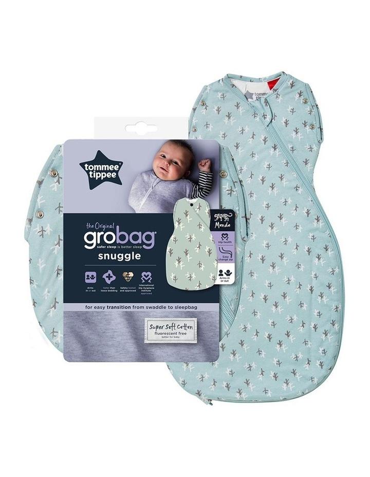 Grobag Baby Cotton 3-9M 2.5 TOG Snuggle Sleep Bag Treasure Trees image 4