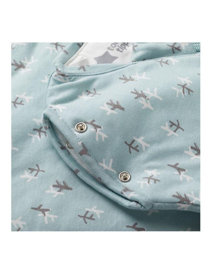 Grobag Baby Cotton 3-9M 2.5 TOG Snuggle Sleep Bag Treasure Trees image 5
