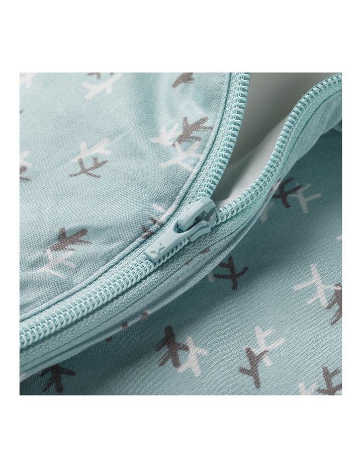 Grobag Baby Cotton 3-9M 2.5 TOG Snuggle Sleep Bag Treasure Trees image 6