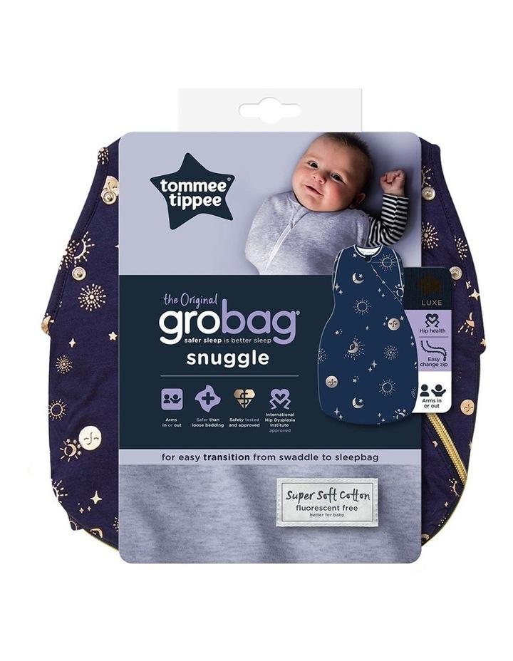 Grobag Baby Cotton 0-4M 2.5 TOG Snuggle Sleeping Bag Moon Child Blue image 5