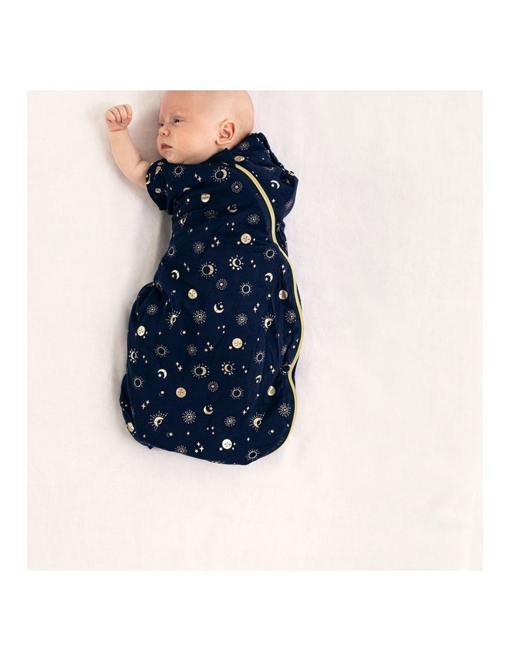 Grobag Baby Cotton 3-9M 2.5 TOG Snuggle Sleeping Bag Moon Child image 2