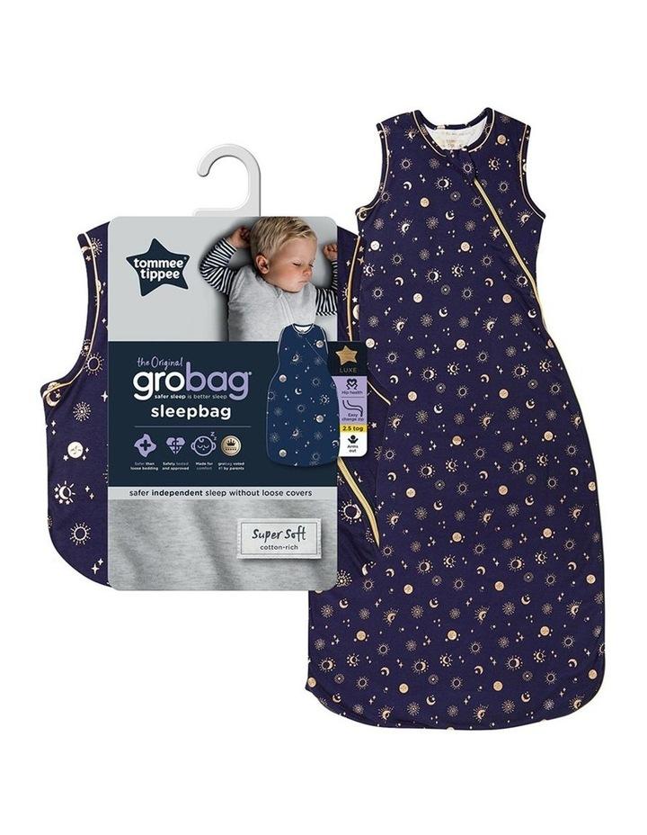 Grobag Baby Bamboo 18-36M 2.5 TOG Sleepbag/Sleeping Bag Moon Child image 5