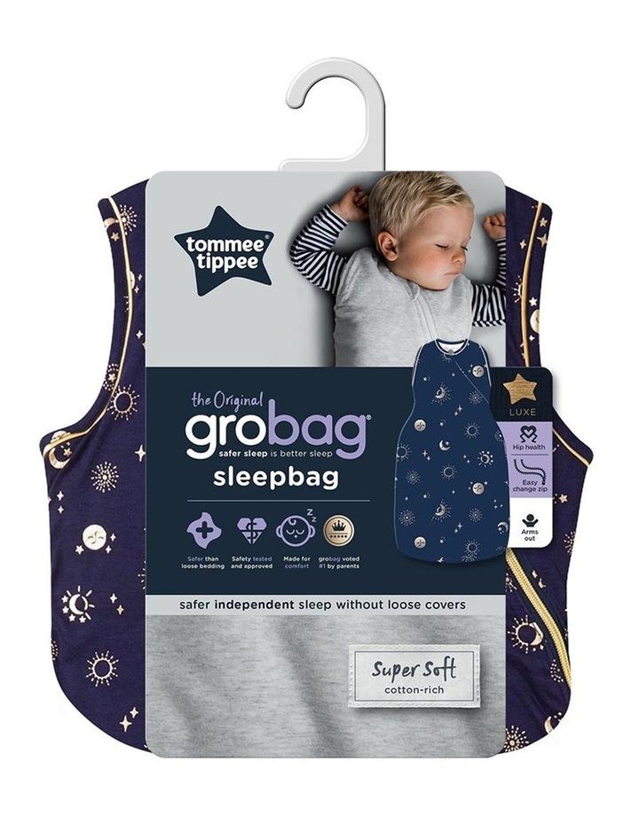 Grobag Baby Bamboo 18-36M 3.5 TOG Sleepbag/Sleeping Bag Moon Child image 6