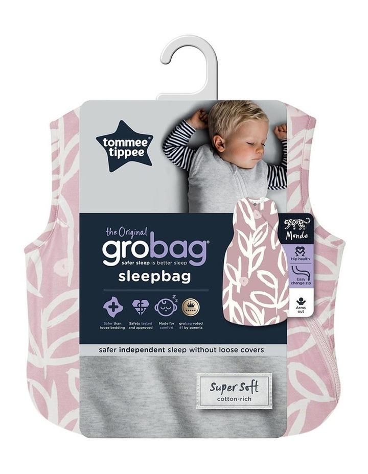 Grobag Baby Bamboo 6-18M  2.5 TOG Sleepbag/Sleeping Bag Botanical image 3