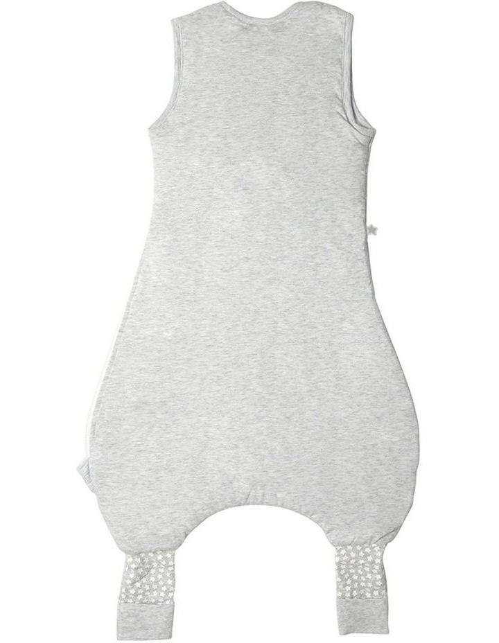 Grobag Baby Cotton 18-36M 1.0 TOG Steppee/Sleeping Bag Grey Marl image 2