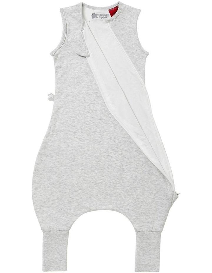 Grobag Baby Cotton 18-36M 1.0 TOG Steppee/Sleeping Bag Grey Marl image 3