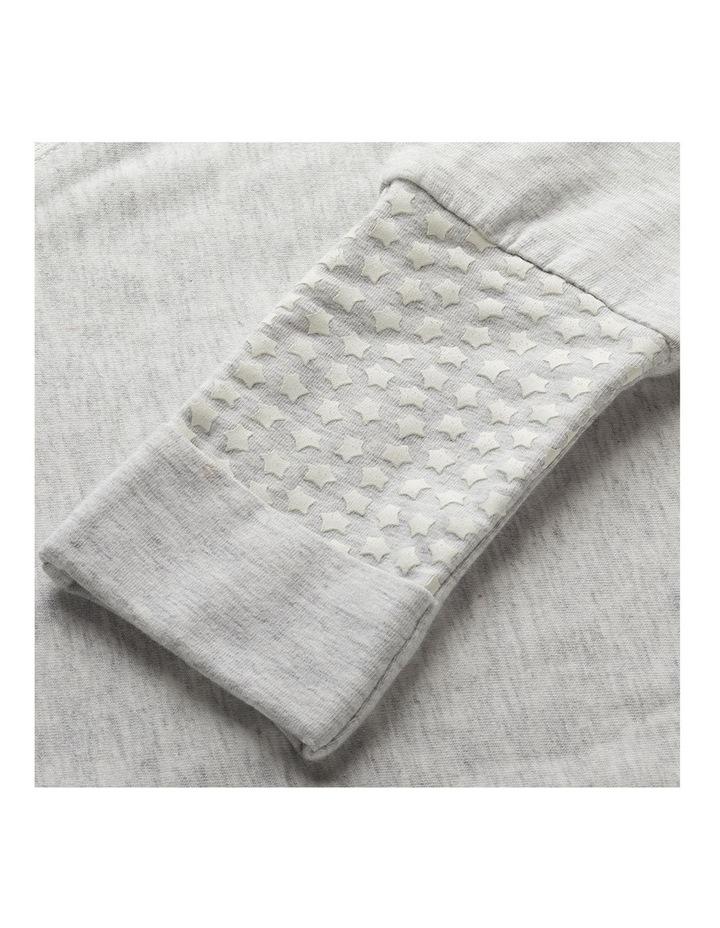 Grobag Baby Cotton 18-36M 1.0 TOG Steppee/Sleeping Bag Grey Marl image 4