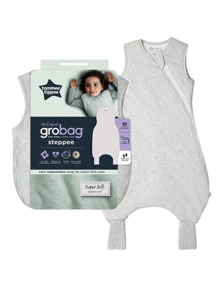 Grobag Baby Cotton 18-36M 1.0 TOG Steppee/Sleeping Bag Grey Marl image 5