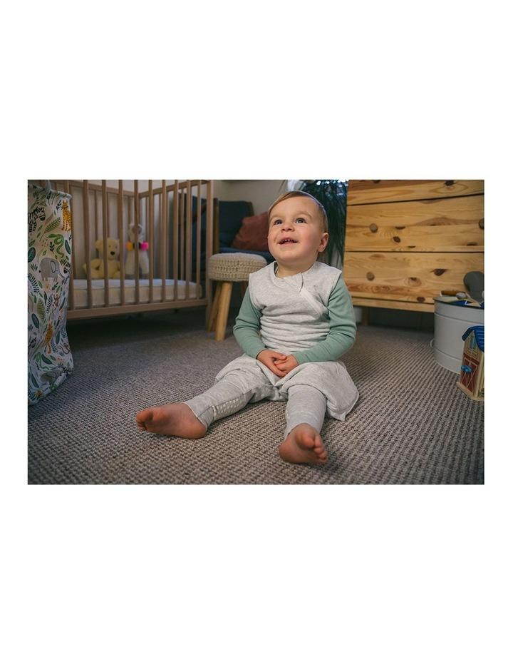 Grobag Baby Cotton 18-36M 1.0 TOG Steppee/Sleeping Bag Grey Marl image 6