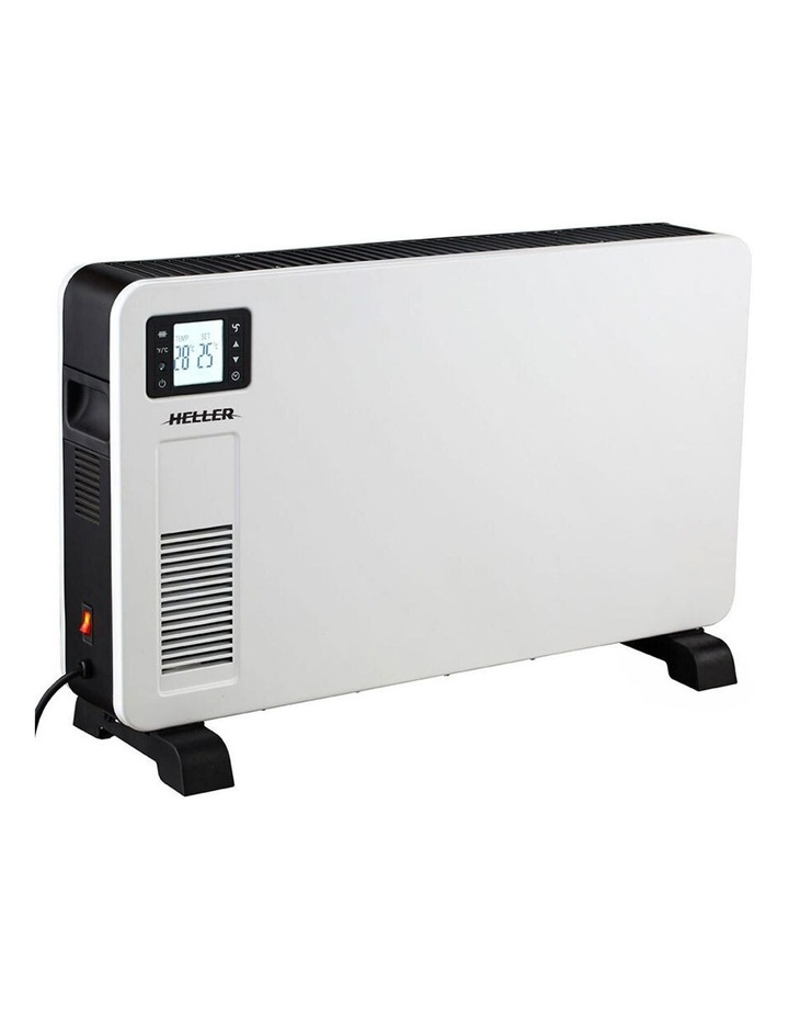 Free Standing White Portable Convection Heater w/ WiFi/Timer 2300W 75cm image 1