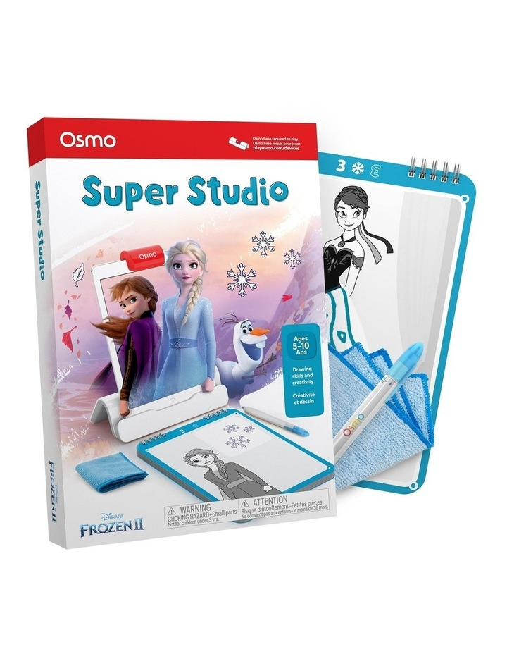 Super Studio Disney Frozen 2 Starter Kit Kids Drawing Game for iPad 5years  image 1