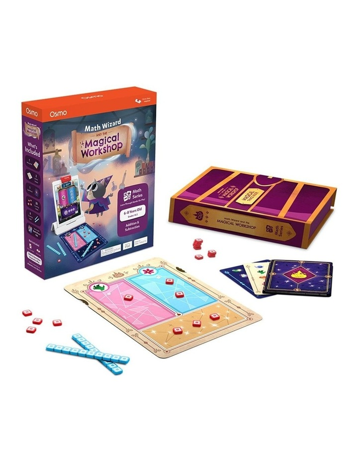 Maths Wizard and the Magical Workshop Kids/Children Educational Toy 6-8years image 1