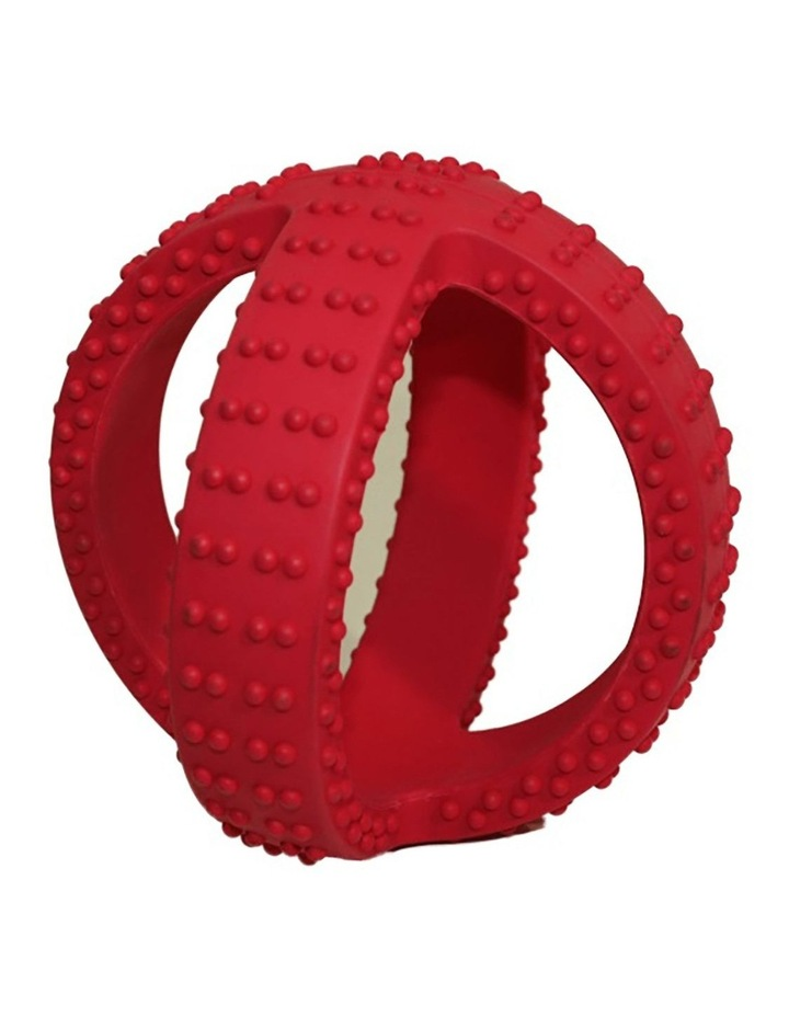 Super Cross 14cm Rubber Throw/Fetch Play Teething Dogs/Puppy Chew Ball Toy image 1