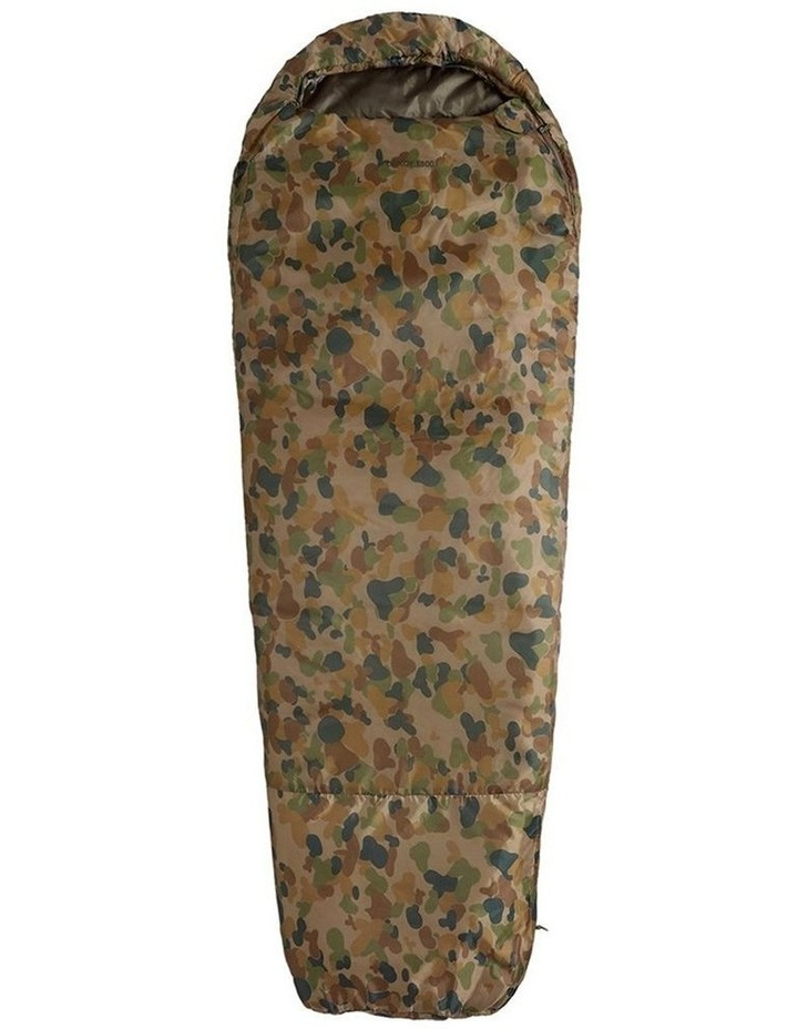 Deploy 1300 Auscam Sleeping Bag 0C Camouflage For Hiking/Camping 220cm image 1