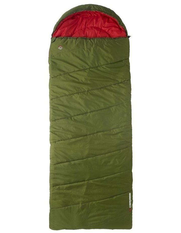 Blaze Soft Sleeping Jumbo Bag -10 for Camping/Hiking/Outdoor 240cm - Green image 1
