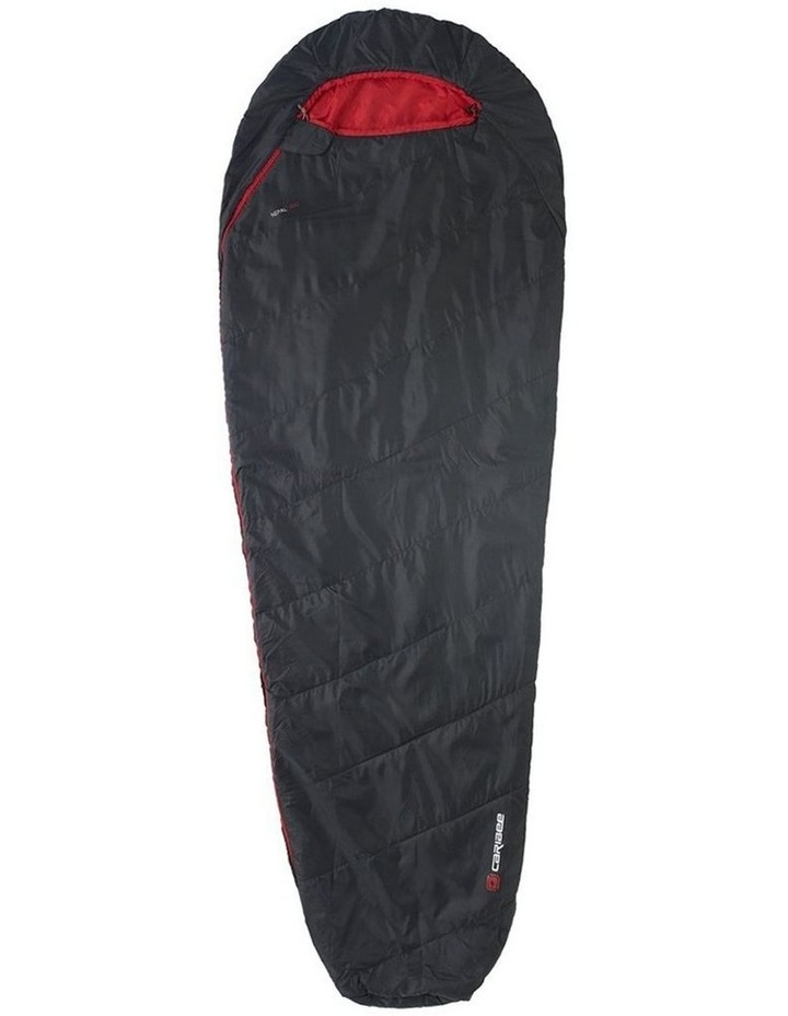 Nepal 600 Sleeping Bag Ultra-Compact 10C for Hiking/Outdoor 210cm - Black image 1