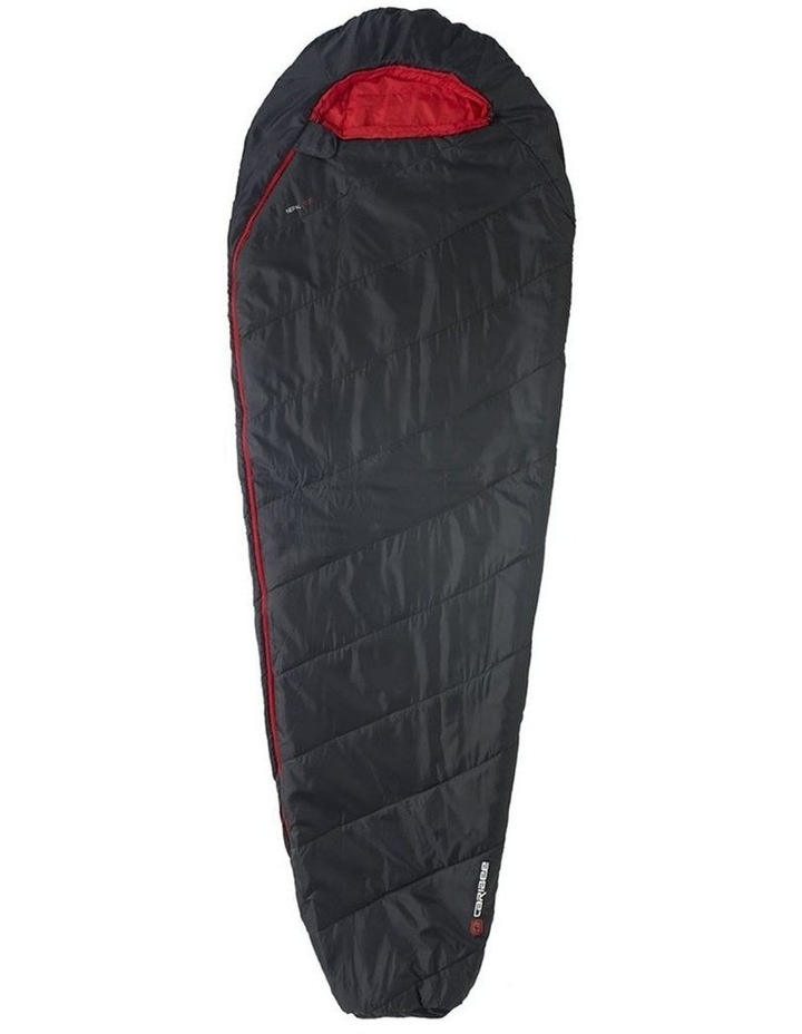 Nepal 1000 5C Soft Sleeping Bag Ultra-Compact for Camping 225cm - Black image 1