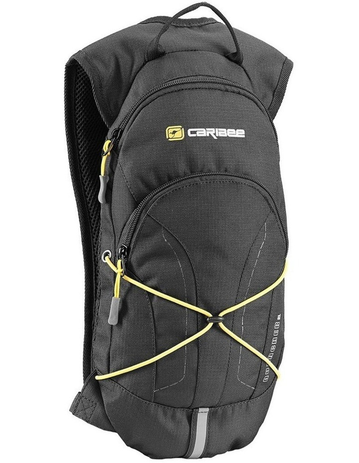 Quencher Backpack Hydration Cycling Fishing Hiking Bags BPA Free 2L - Black image 1