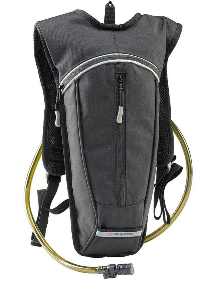 Hydra Backpack Hydration Hiking Cycling BPA Free Outdoor Bags  1.5L - Black image 1