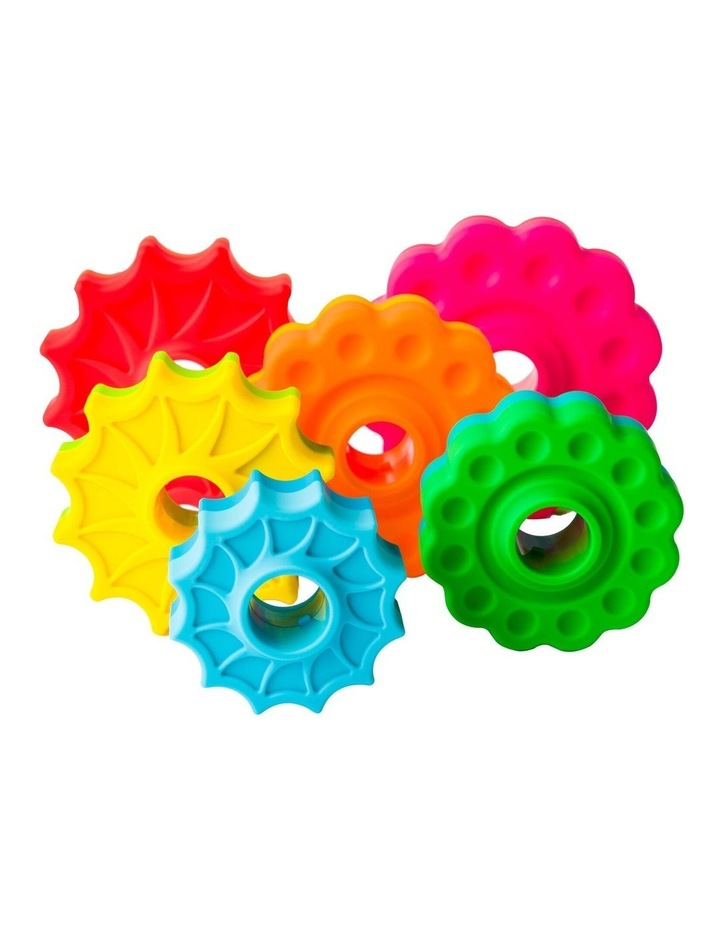 Fat Brain Stacking Toy Co SpinAgain 1-4y  Baby/Kids/BPA Free Plastic Screw Disc image 5