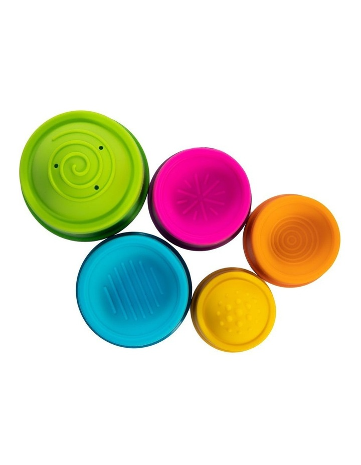 Dimpl Stack For 6m  Baby/Infants BPA Free Silicone Stacking Toy image 6