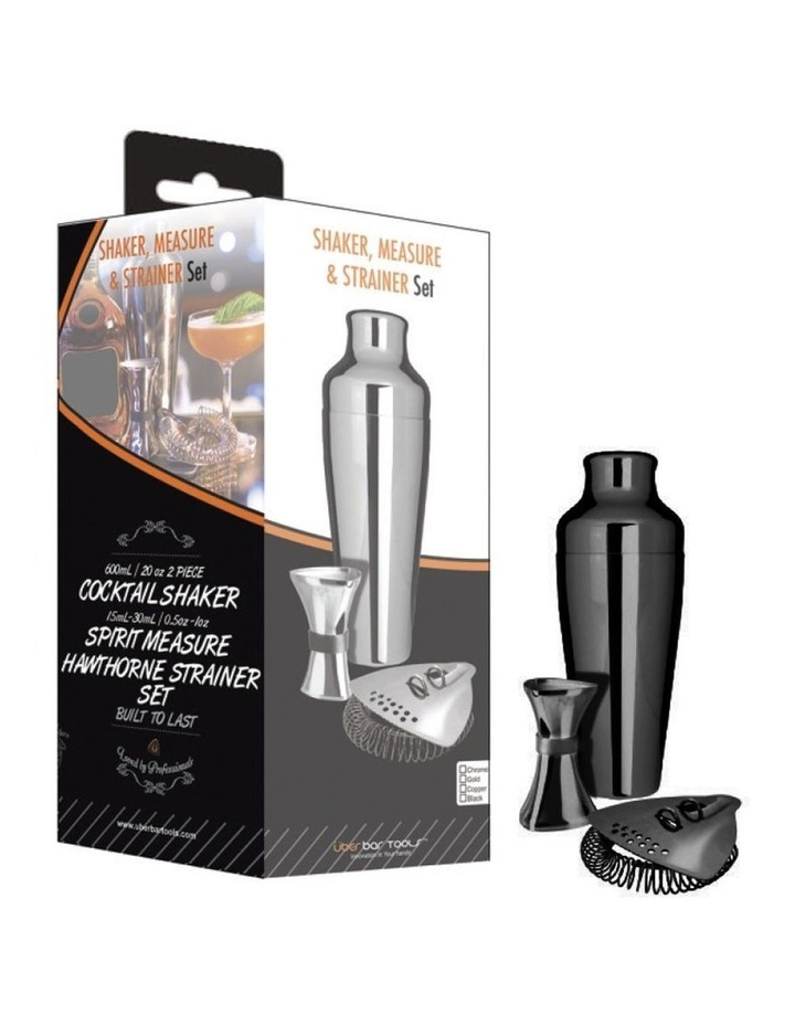 Shake Measure & Strain Pack Platinum Black image 1