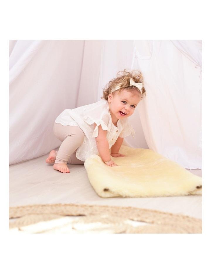 Australian Merino Lambskin Baby Rug / Play Mat image 3