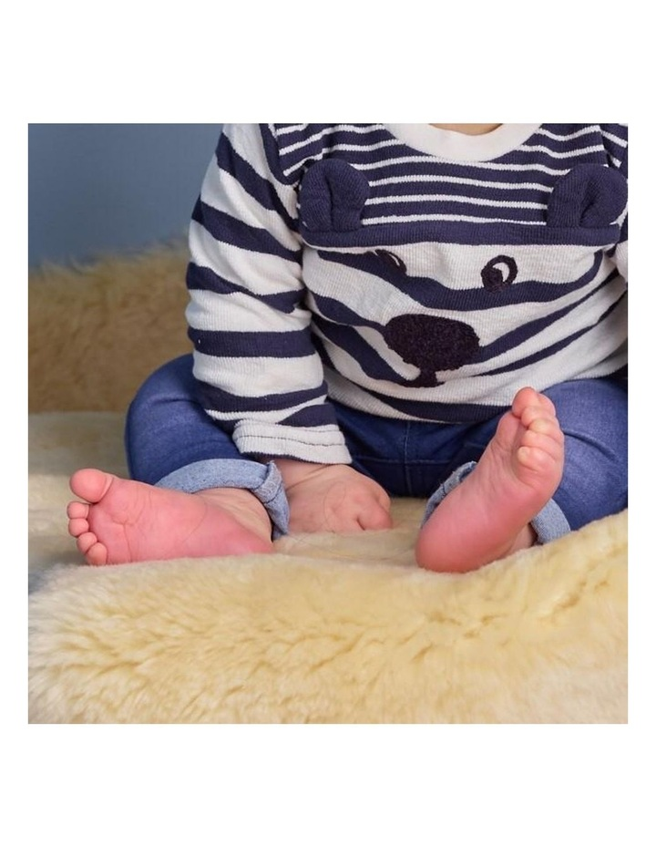Australian Merino Lambskin Baby Rug / Play Mat image 5