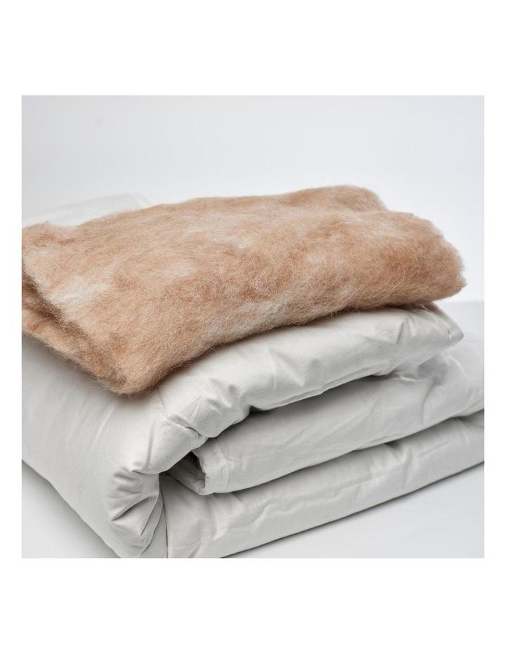 Australian Alpaca Wool Doona/Duvet/Quilt - 130cm x 110cm image 2