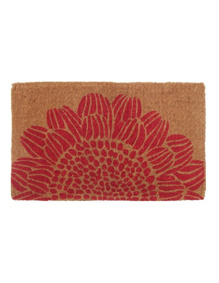 45x75cm Blossom Coir Doormat image 1