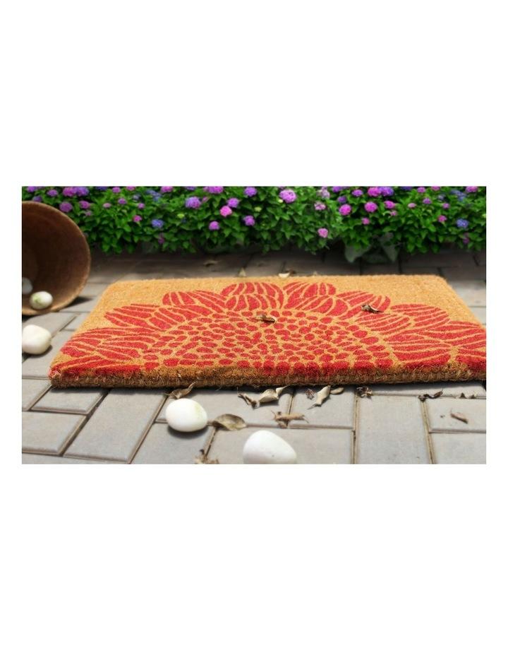 45x75cm Blossom Coir Doormat image 2
