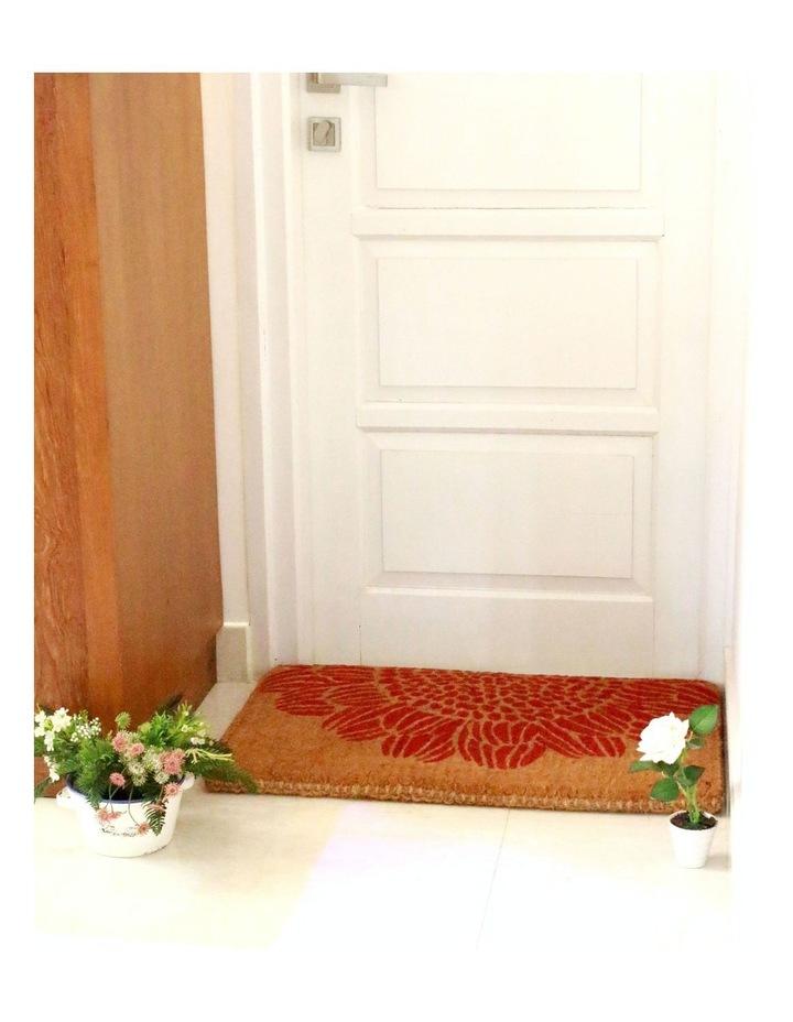 45x75cm Blossom Coir Doormat image 3