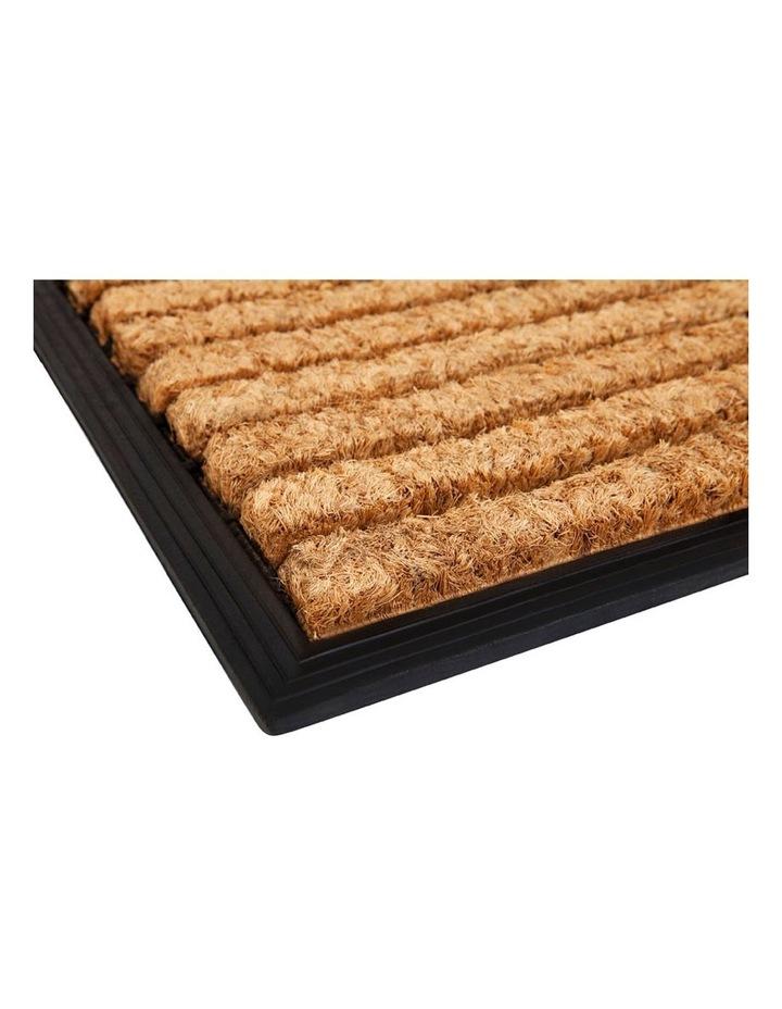 Stripes Rubber Bordered Coir Doormat 45x75 cm image 2